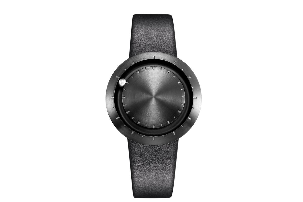 Uhr Modern metall armbanduhr lavaro abacus mattschwarz uhr 853558 lavaro